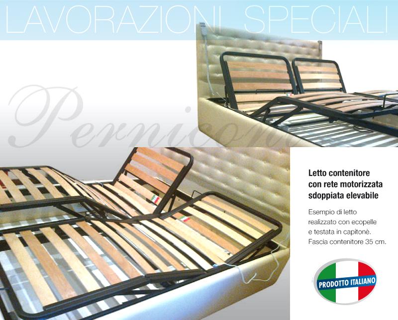 Letto contenitore con rete motorizzata la migliore scelta di casa e interior design - Sostituzione rete letto contenitore ...